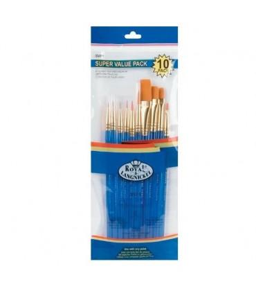 Set Pincel  Royal Brush 10pc