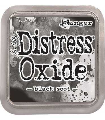 Distress Oxides Ink Pad (7,5cmx7,5 cm.)/Black Soot