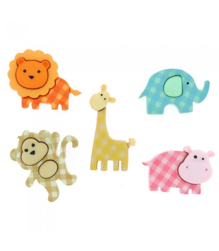 Dress It Up embellecedores /Baby Safari