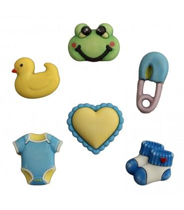 Buttons Galore embellecedores / Little Baby Boy