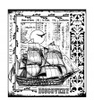 Crafty Individuals / 'Voyage of Discovery' mide 82 mm x 92 mm