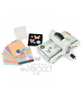 Sizzix Big Shot Starter Kit (Blanco y Gris)