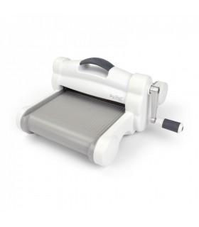 Sizzix Big Shot Plus - Máquina troqueladora y texturizadora, color gris y blanco.