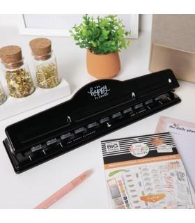 Happy Planner Big Punch/ Perforadora de papel para sistema de anillado de discos