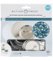 We R Memory Keepers Button Press Refill Pack 18un.xPq