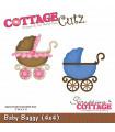"""CottageCutz Troquel / Baby Buggy 3""""X3"""" / Coche de Bebé"""