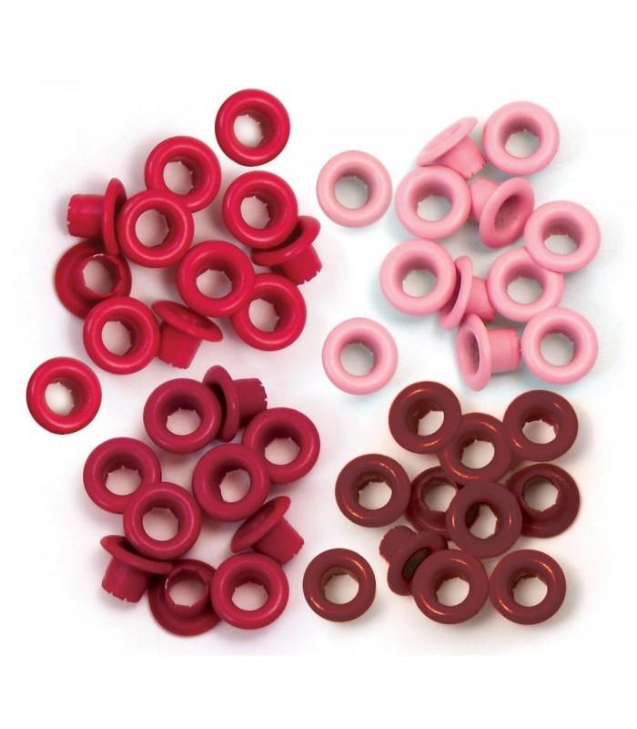 Eyelets Estandar (0,5 cm) Rojo