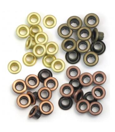Eyelets Estandar (0,5 cm) Metal Cálido