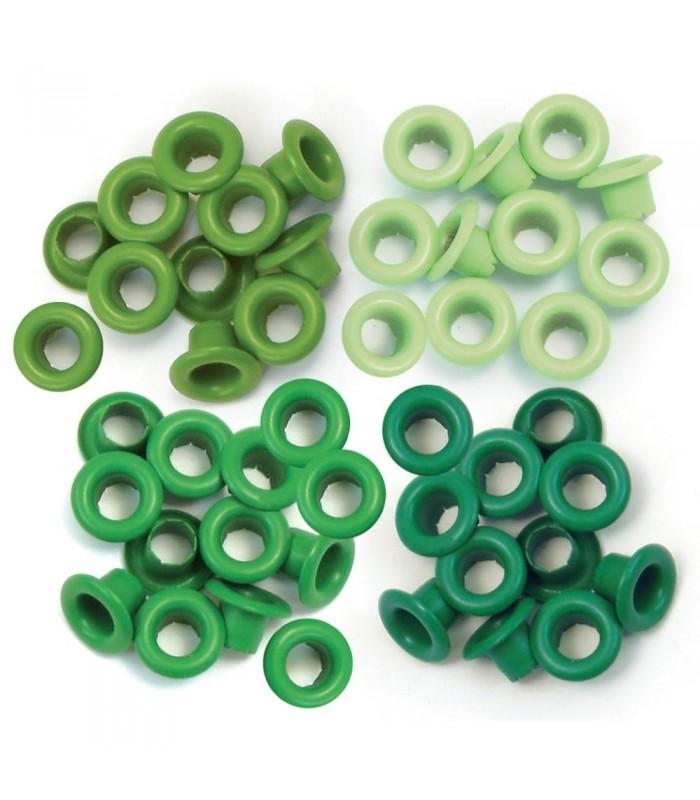 Eyelets Estandar (0,5 cm) Verde