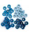 Eyelets Estandar (0,5 cm) Azul